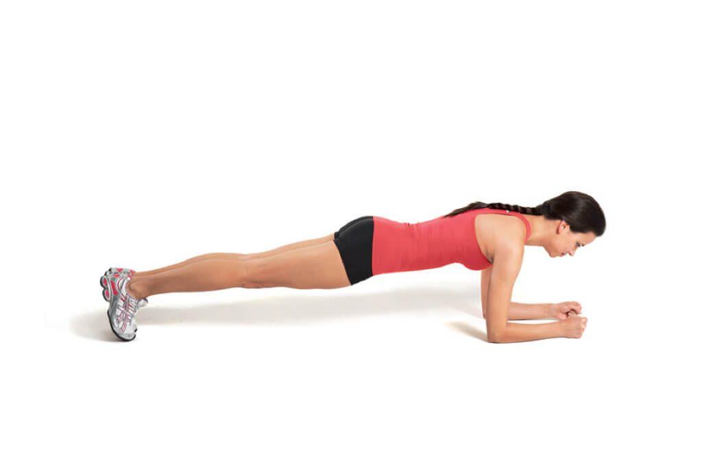 Planken - buikspieroefening